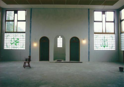 Ramen van de nieuwe moskee in Panningen (3), 2007
